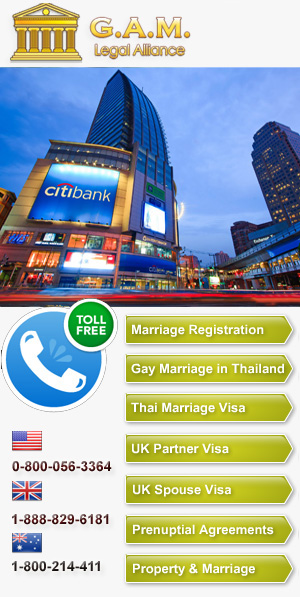 Thai Marriage for British